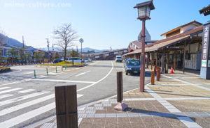 飛騨古川駅隣りにある観光案内所前のタクシー乗り場