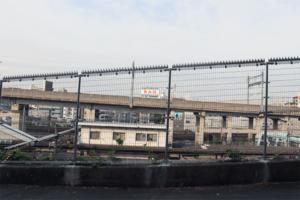 陽菜の家への道(田端駅)