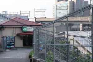 東京の田端駅南側