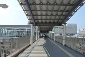 大垣駅との連絡通路