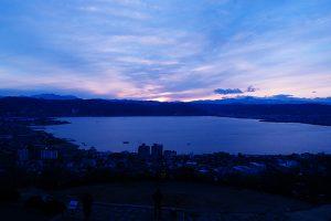 糸守湖 / Itomori lake